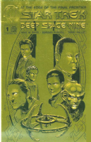 Star Trek Deep Space Nine #1 - Limited Edition Gold Foil Embossed Variant Cover